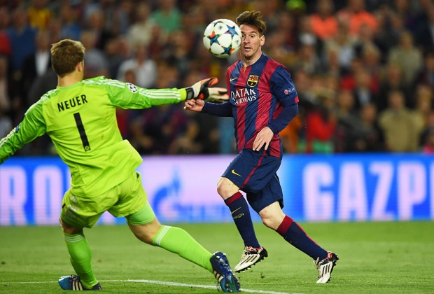 PICTURE: Messi Names Best Three Goalkeepers He Has Faced - Latest football news in Nigeria