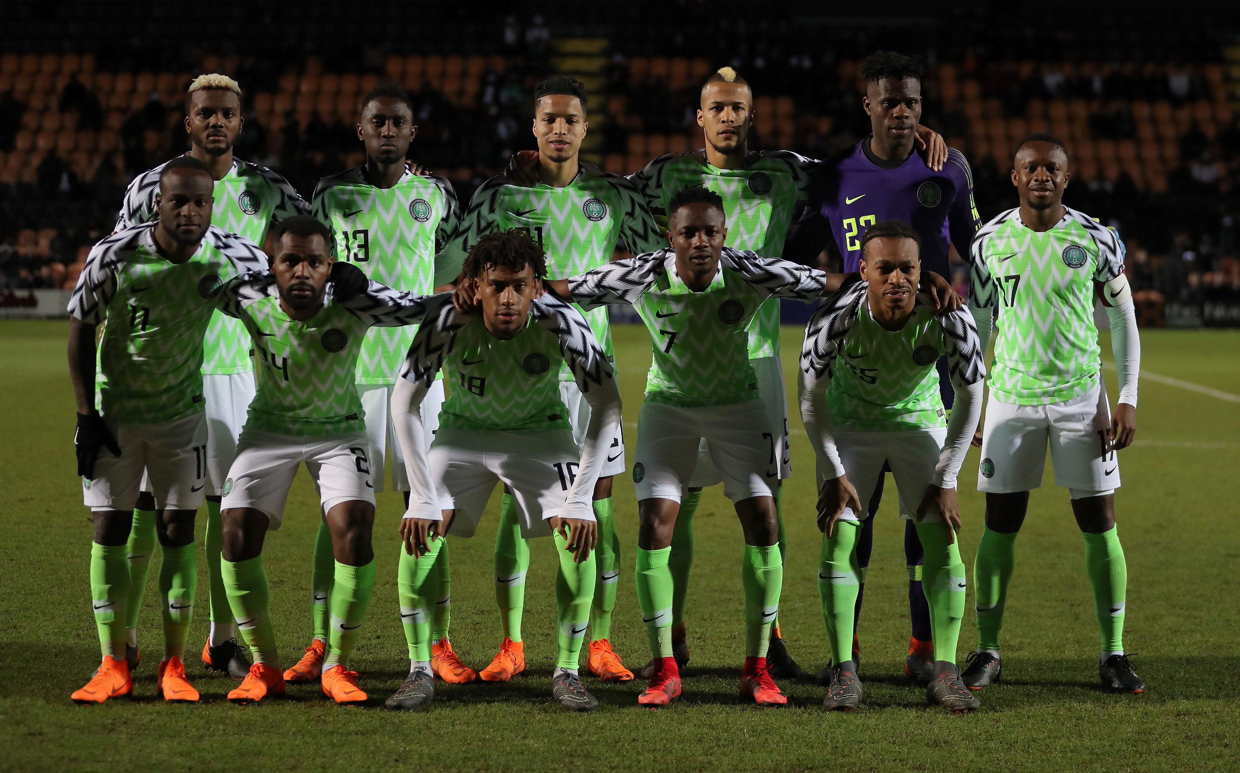 72f47e560 Nigerian soccer fans will have to be full of prayers that the country will  get a balanced and quality squad based on merit for this year  World Cup in  ...