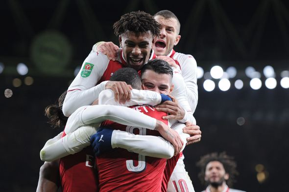 Emery 'very happy' with Welbeck after match-winning brace for Arsenal