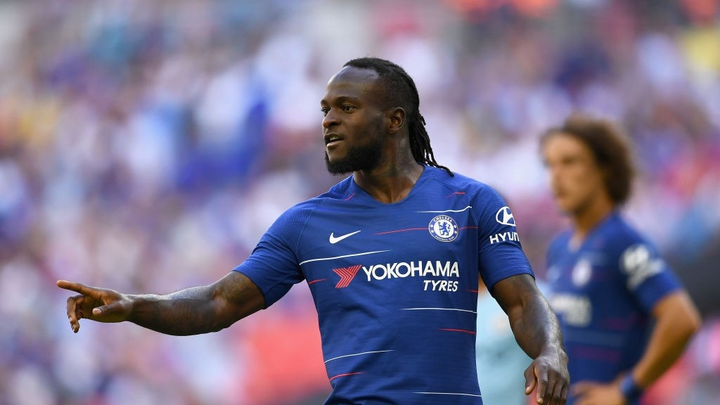 Moses Ahead Of Callum Hudson-Odoi At Chelsea