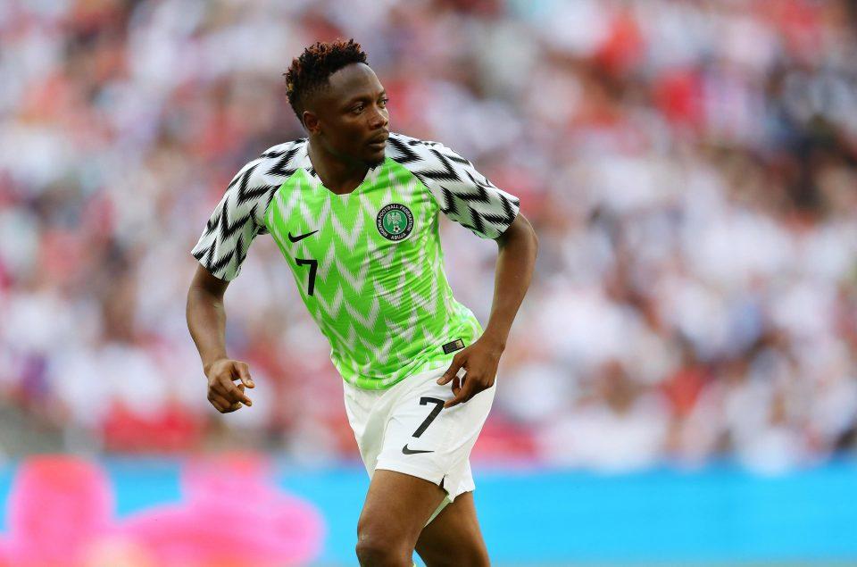 Image result for Super Eagles Ahmed Musa