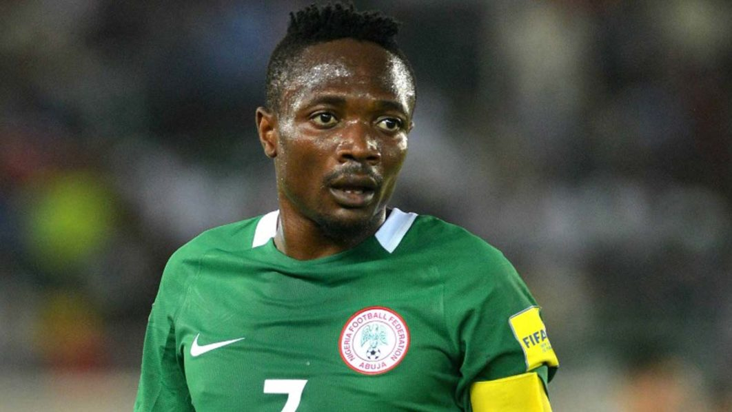... Ahmed Musa has been confirmed as the man to captain Nigeria against  Libya in next weekend s Africa Cup of Nations qualifier in Uyo 813bd9e25
