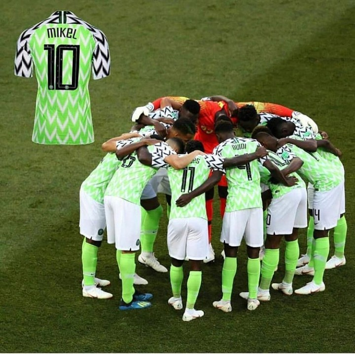 77e4fa63ed8 FIFA Rest Mikel s Jersey - Latest football news in Nigeria