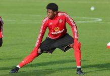 Nigerian born striker Josh Maja
