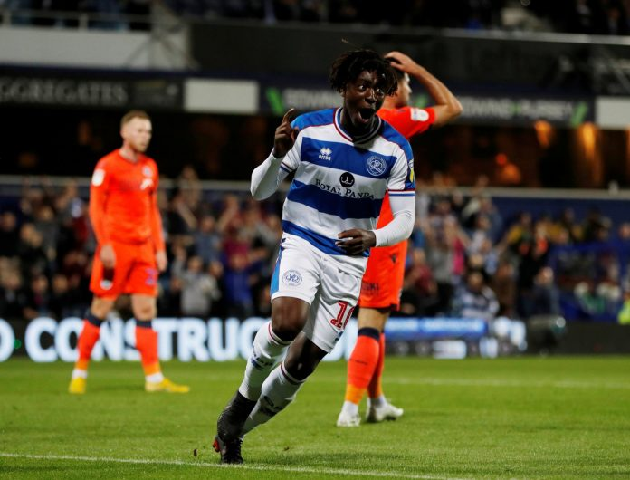 Queens Park Rangers of England attacker, Eberechi Eze