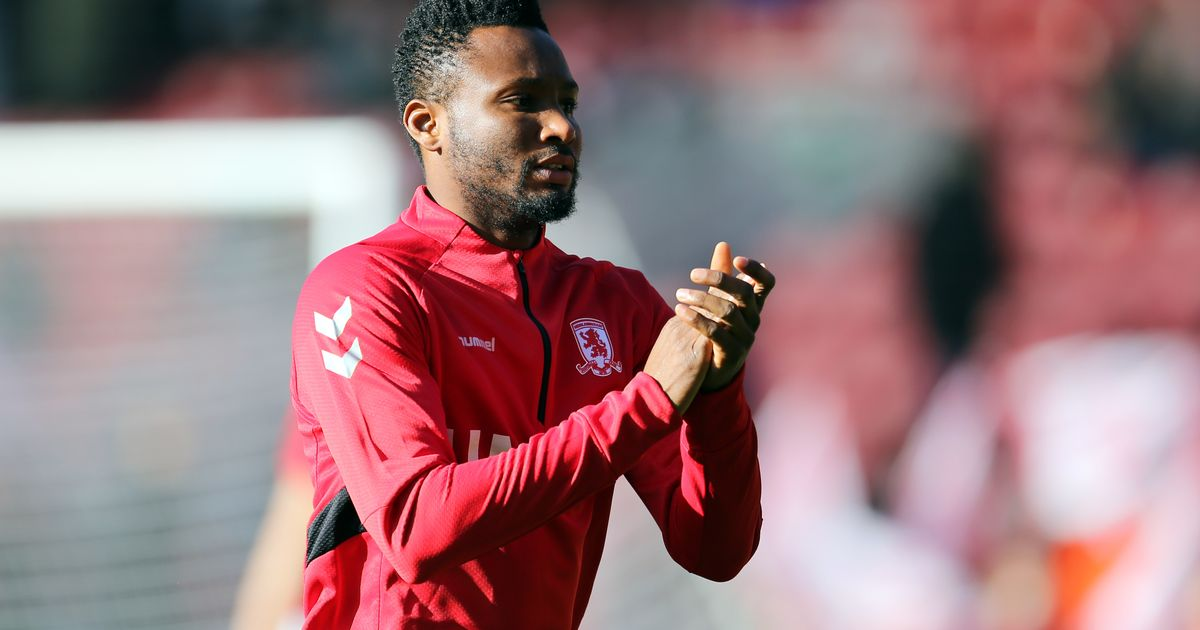 Middlesbrough fans sing Mikel Obi is 'Rolls Royce'