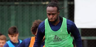Victor Moses Releases An Incredible Photo Of Him In Training