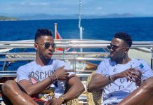 "Kelechi Iheanancho Flaunt His Expensive Boat With Wilfred Ndidi And Calls His Lifestyle "" Blessing"""