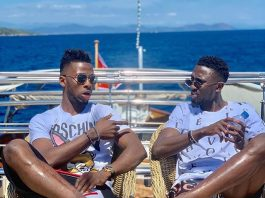 """Kelechi Iheanancho Flaunt His Expensive Boat With Wilfred Ndidi And Calls His Lifestyle """" Blessing"""""""