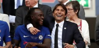 Inter Milan boss, Antonio Conte Adds Nigerian Star Victor Moses To His Wishlist Ahead Of His Move To San Siro