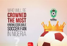 Nigeria's Most Knowledgeable Football Fan Set To Win With 12 million With NFFC